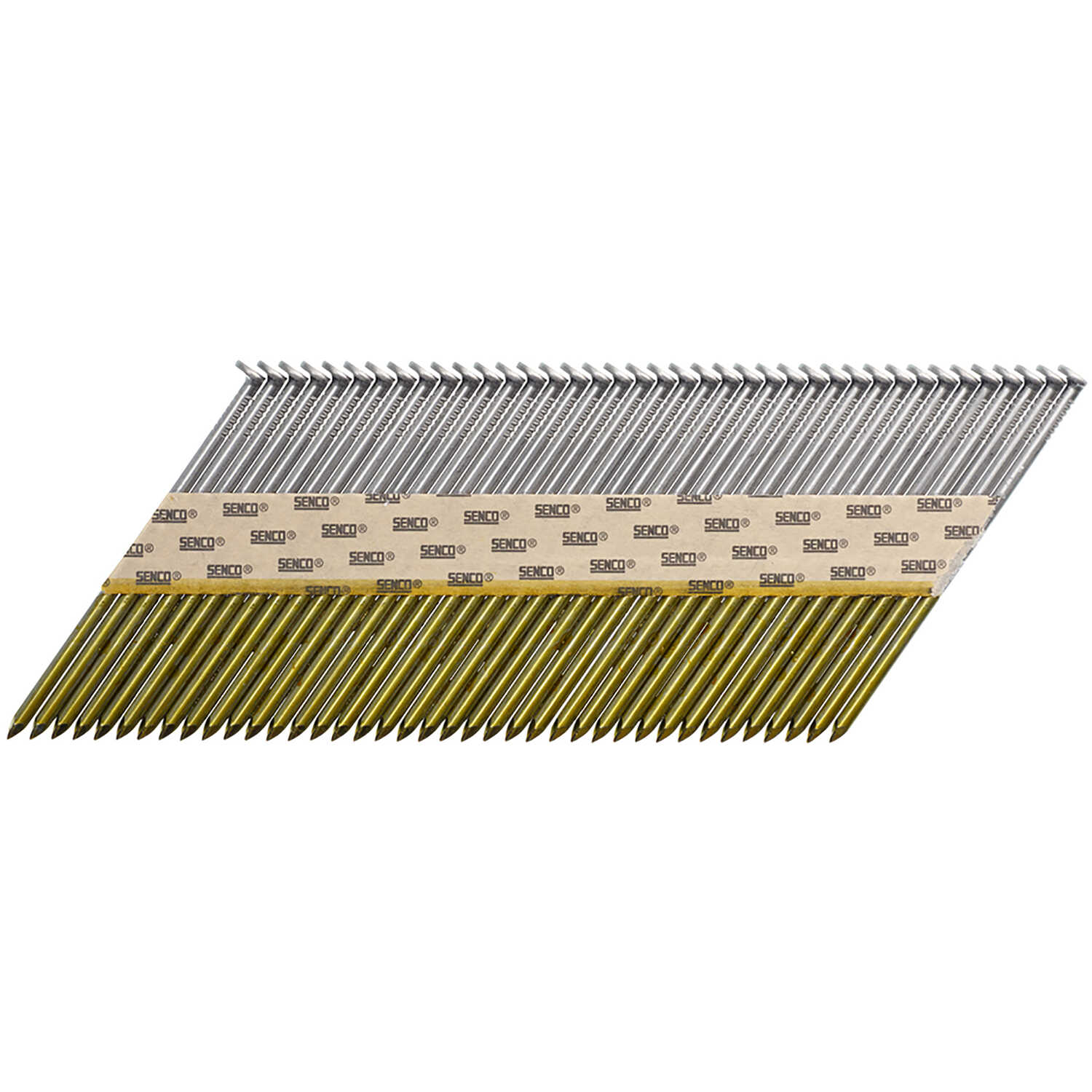 Senco  ProHead  34  16 Ga. Smooth Shank  Angled Strip  Framing Nails  3-1/4 in. L x 0.13 in. Dia. 50