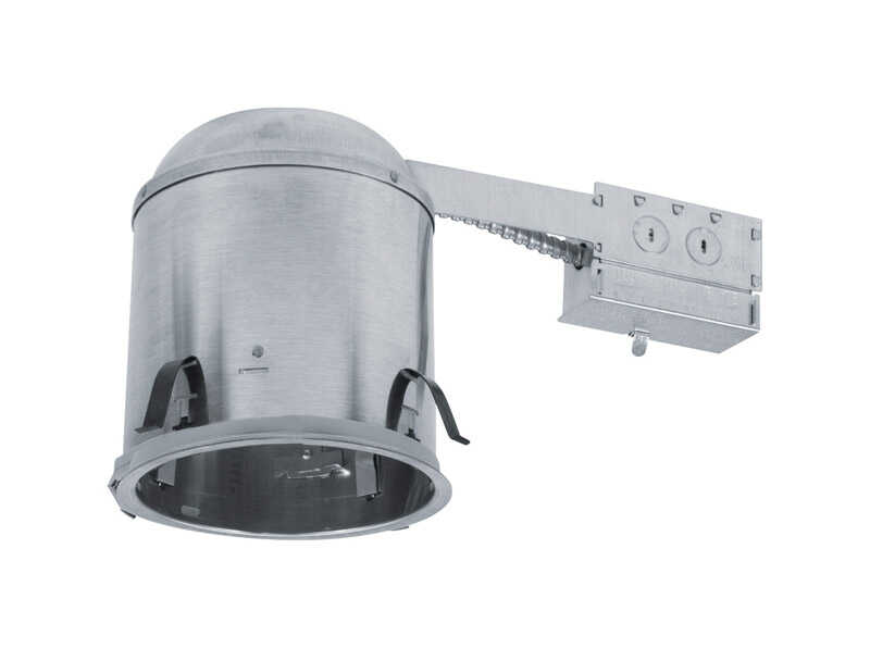 Halo  White  6-1/4 in. W Aluminum  Recessed Lighting Housing