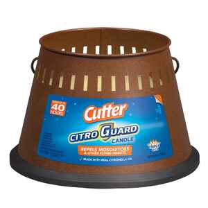 Cutter  Citro Guard  Candle  Solid  For Mosquitoes/Other Flying Insects 20 oz.