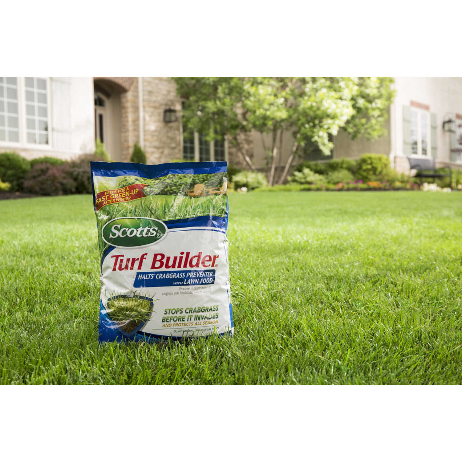 Scotts  Turf Builder  30-0-4  Crabgrass Preventer with Fertilizer  For All Grass Types 40.05 lb. 150