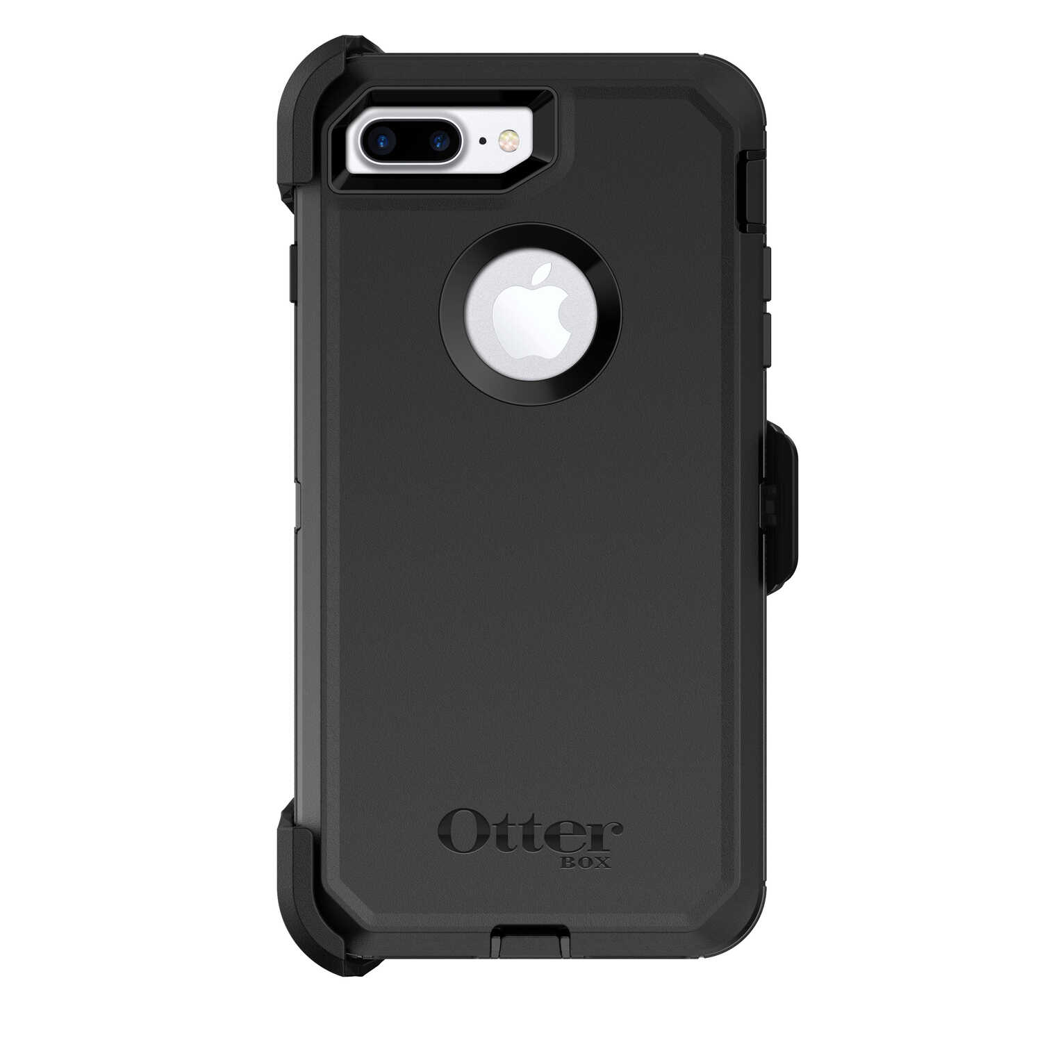 Otter Box  Defender  Black  Cell Phone Case  For Apple iPhone 7 Plus