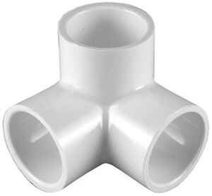 Charlotte Pipe  Schedule 40  1 in. Slip   x 1 in. Dia. Slip  PVC  Side Outlet Elbow