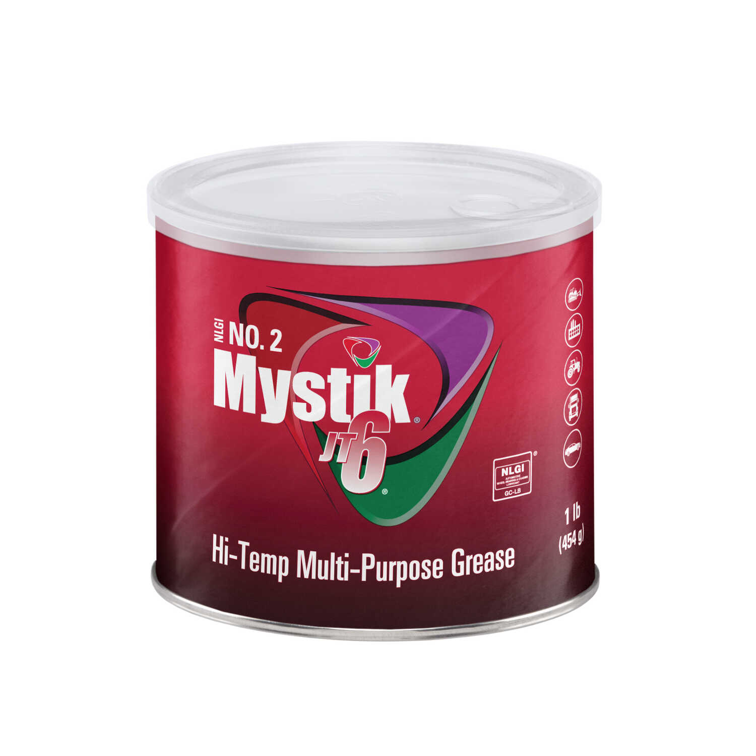 Mystik  JT-6  EP Lithium  Grease  Can