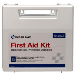 First Aid Only  50 Person First Aid Kit  197 count