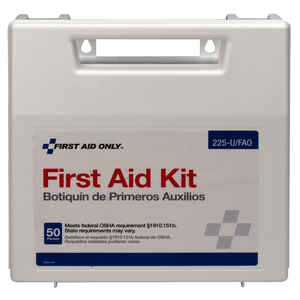 First Aid Only  50 Person First Aid Kit  197 pc.