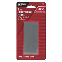 Ace 4 in. L Aluminum Oxide Sharpening Stone 60/80 Grit 1 pc.