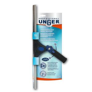 Unger Professional  Swivel  18 in. Plastic  Window Squeegee