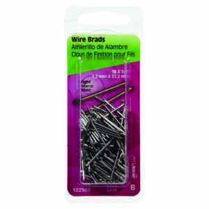 HILLMAN  18 Ga.  x 7/8 in. L Bright  Steel  Brad Nails  1 pk 2 oz.
