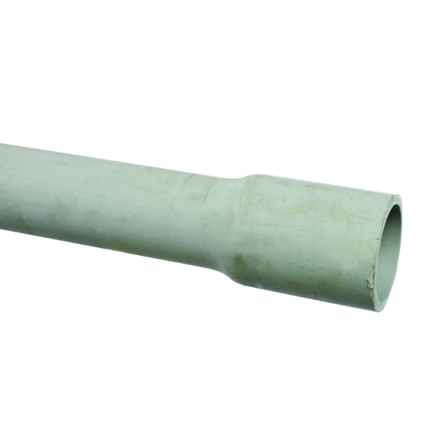 Cantex  1/2 in. Dia. x 10 ft. L PVC  Electrical Conduit  For Rigid