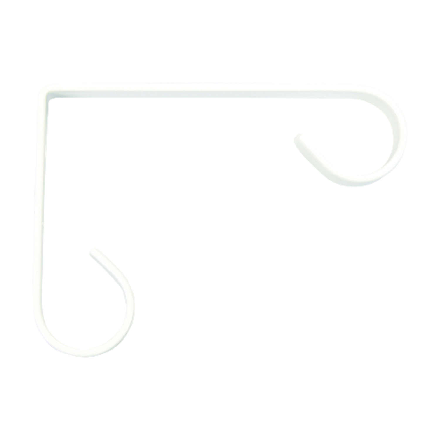 Panacea  White  Steel  4 in. H Sturdy  Plant Hook