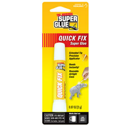 The Original Super Glue Corporation  Quick Fix  High Strength  Cyanoacrylate  All Purpose Super Glue
