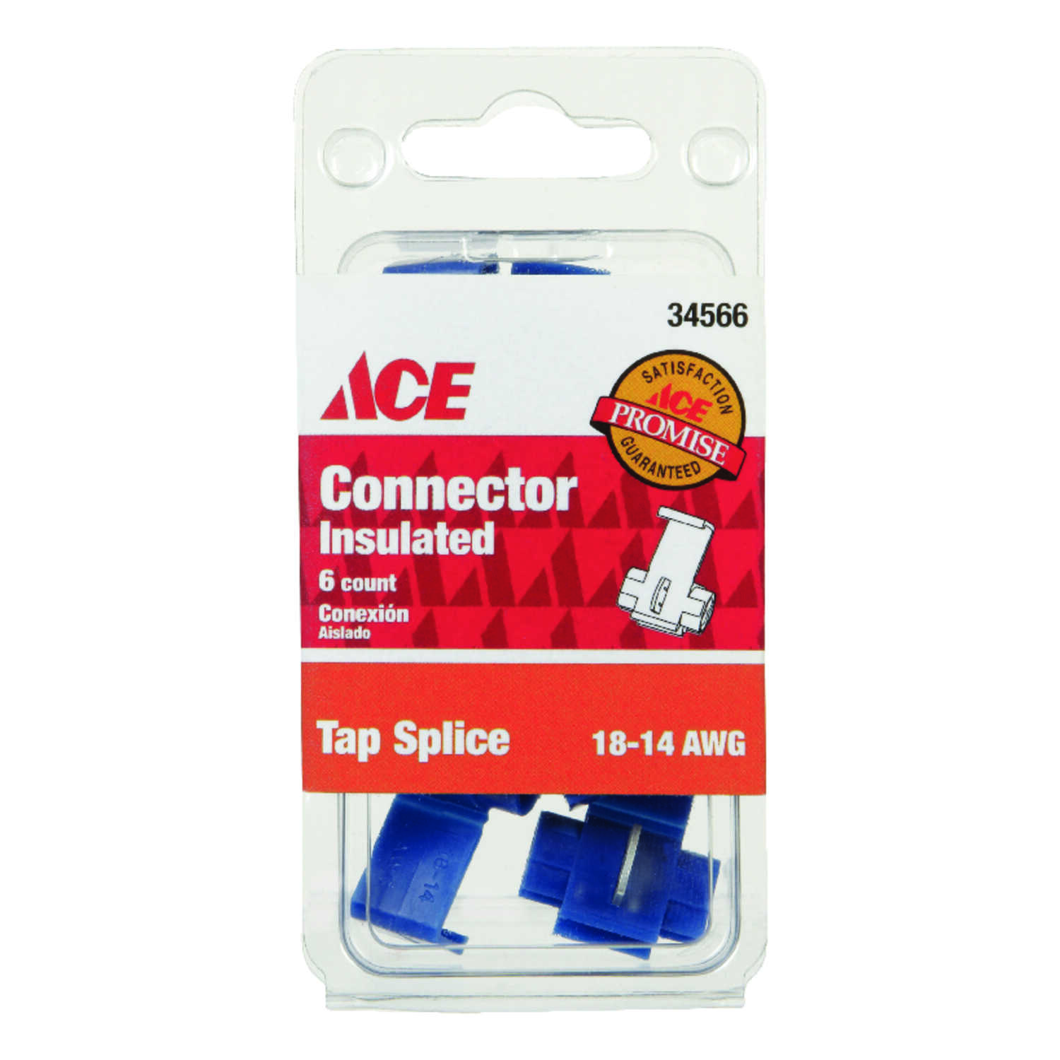Ace  18-14 AWG Insulated Wire  6  Tap Splice Connector