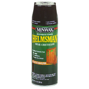 Minwax  Helmsman  Indoor and Outdoor  Clear  Semi-Gloss  Spar Urethane  11.5 oz. Semi-Gloss