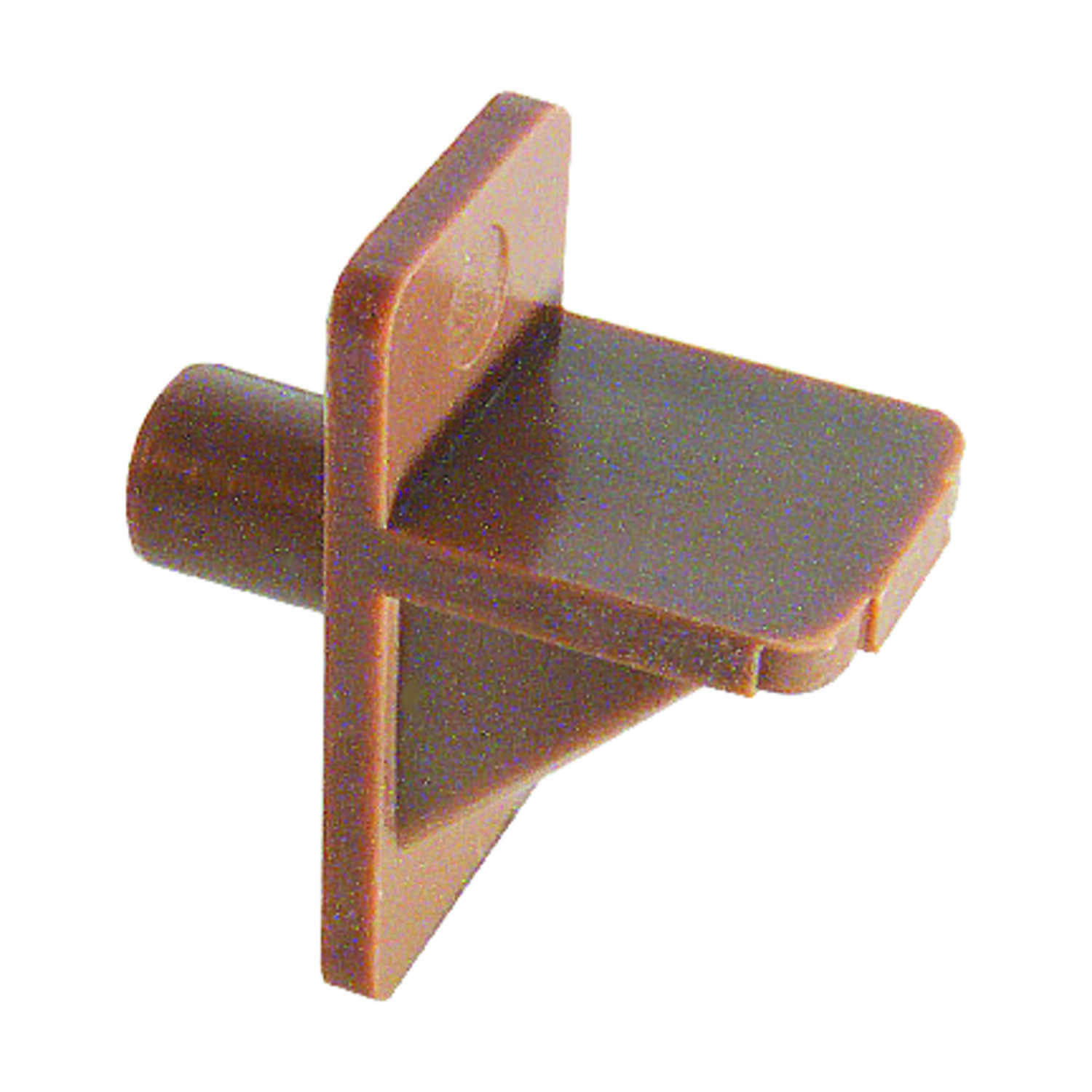 Prime-Line  Light Brown  Plastic  Shelf Support Peg  1/4 inch Ga. 1 in. L