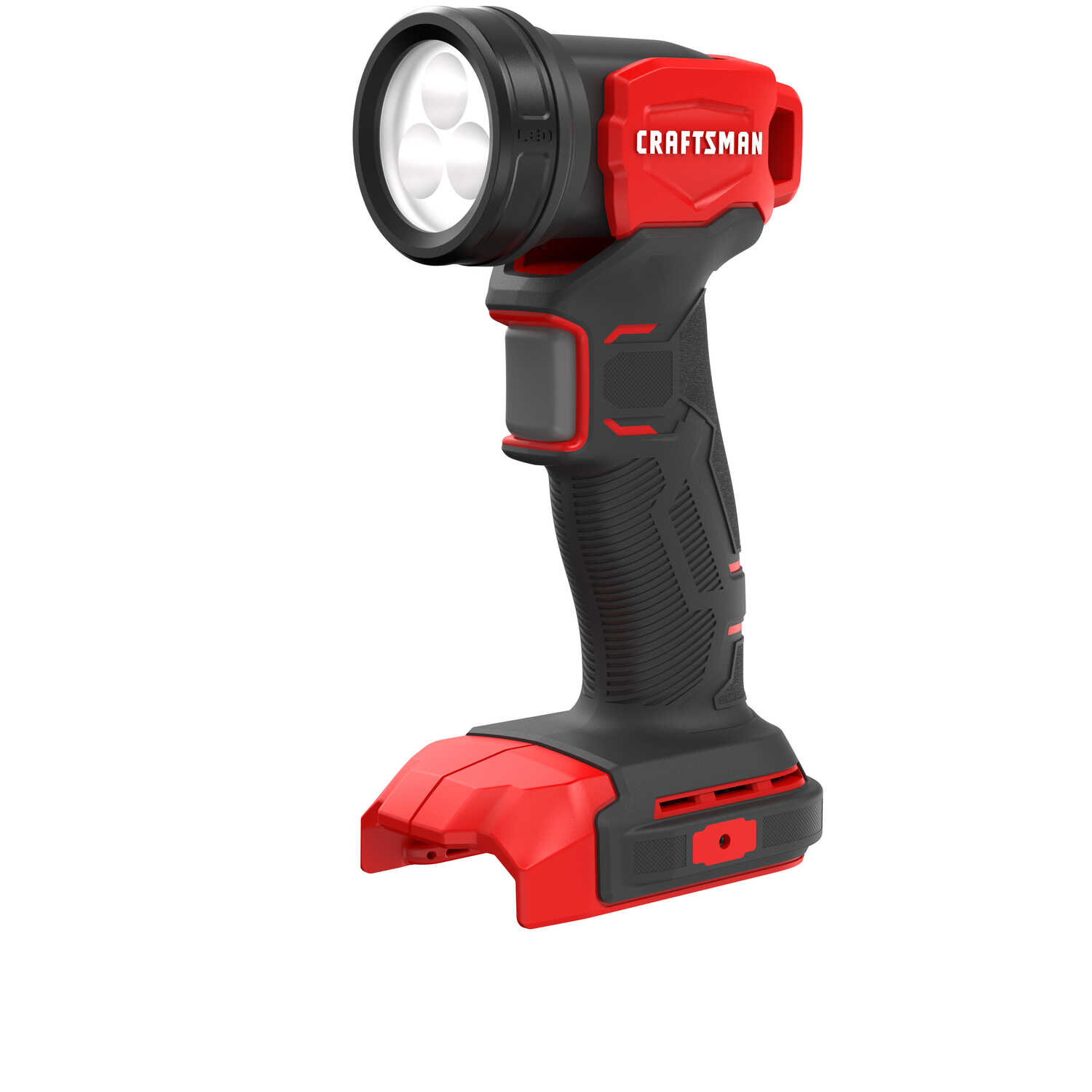 Craftsman  20V MAX  LED  Cordless Work Light  120 lumens 3 lights Indoor and Outdoor