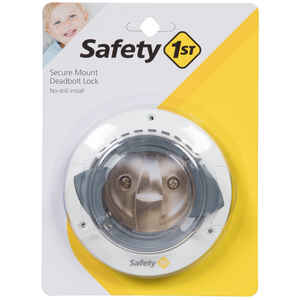 Safety 1st  White  Plastic  Secure Mount Deadbolt Lock  1