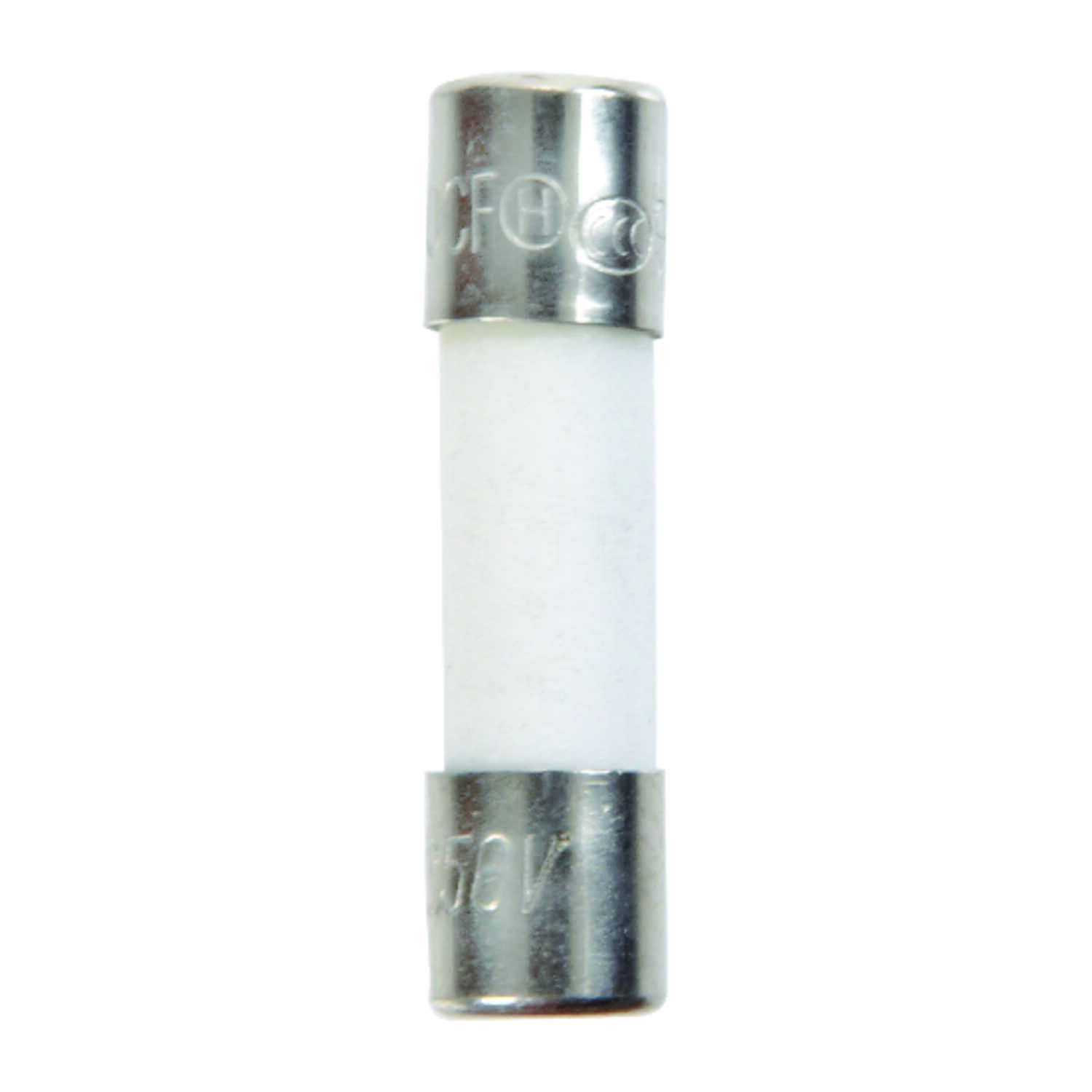 Jandorf  S501  2 amps 250 volts Ceramic  Fast Acting Fuse  2 pk