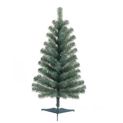 Celebrations 3 ft. Full Irridescent Christmas Tree
