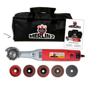 Merlin2  22mm  Corded  Mini Angle Grinder  13000 rpm 110 volts