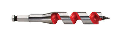 Milwaukee 3/8 in. Dia. x 6 in. L Ship Auger Bit Hardened Steel 1 pc.