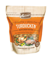 Merrick  Turducken  Turkey, Duck, Chicken  Treats  For Dog 9 oz. 1 pk