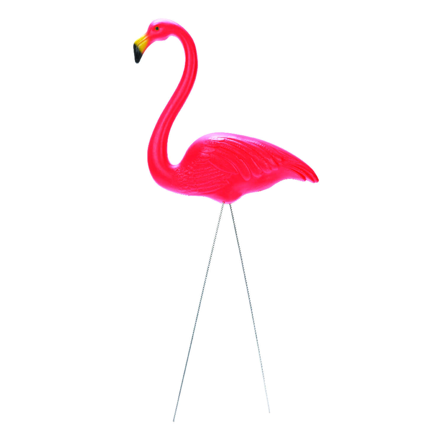 Union Products  Plastic  Pink  24 in. H Flamingo  Outdoor Decoration