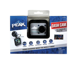 Peak 12 volt Black Dash Security Camera System 1 pk Universal
