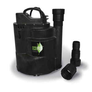 Ecoflo  Thermoplastic  Submersible Pump  1/2 hp 2520 gph 115 volt
