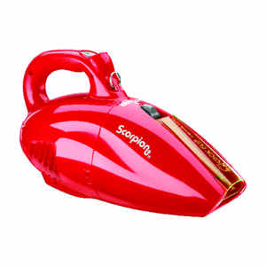 Dirt Devil  Scorpion  Bagless  Pet Vacuum  7 amps Standard  Red