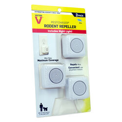 Victor  PestChaser  Plug-In  Electronic Pest Repeller  For Rodents 3 pk