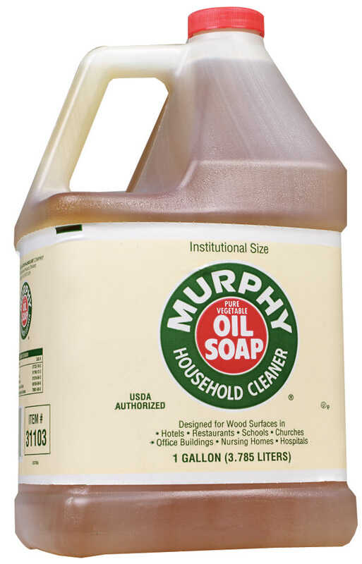 Murphy  Oil Soap  Lemon Scent 1 gal. Liquid  All Purpose Cleaner