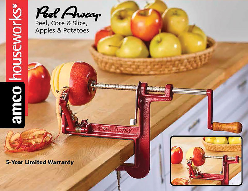 Back To Basics  Stainless Steel  Apple/Potato Peeler