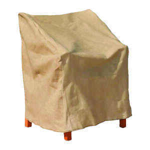 Budge  36 in. H x 30 in. W x 27 in. L Tan  Polypropylene�  High Back Chair Cover