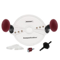 Milescraft  CompactSubBase  8 in. L x 8 in. W Router Attachment