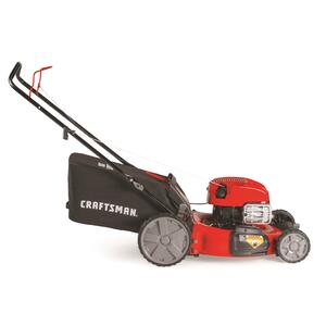 Craftsman  Deluxe High-Wheel  21 in. W 163 cc Manual-Push  Mulching Capability Lawn Mower