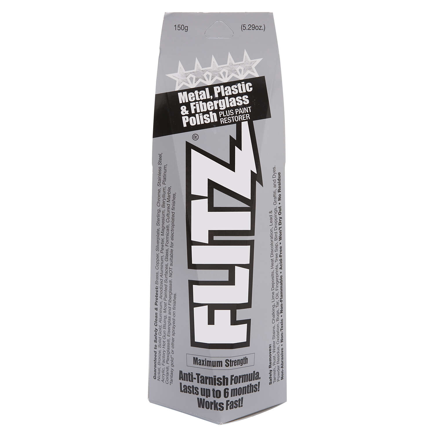Flitz  Metal Polish  5.29 oz. Cream