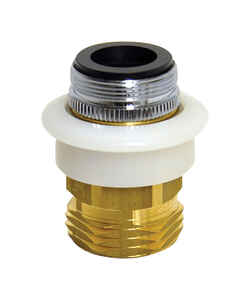 Danco  Quick Connect Adapter  15/16 in.  x 55/64 in.  Chrome Plated
