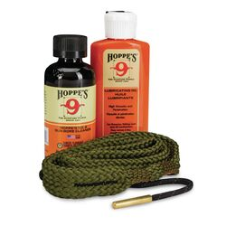 Hoppe's No. 9 1-2-3 Done Pistol Gun Cleaning Kit 3 pc.