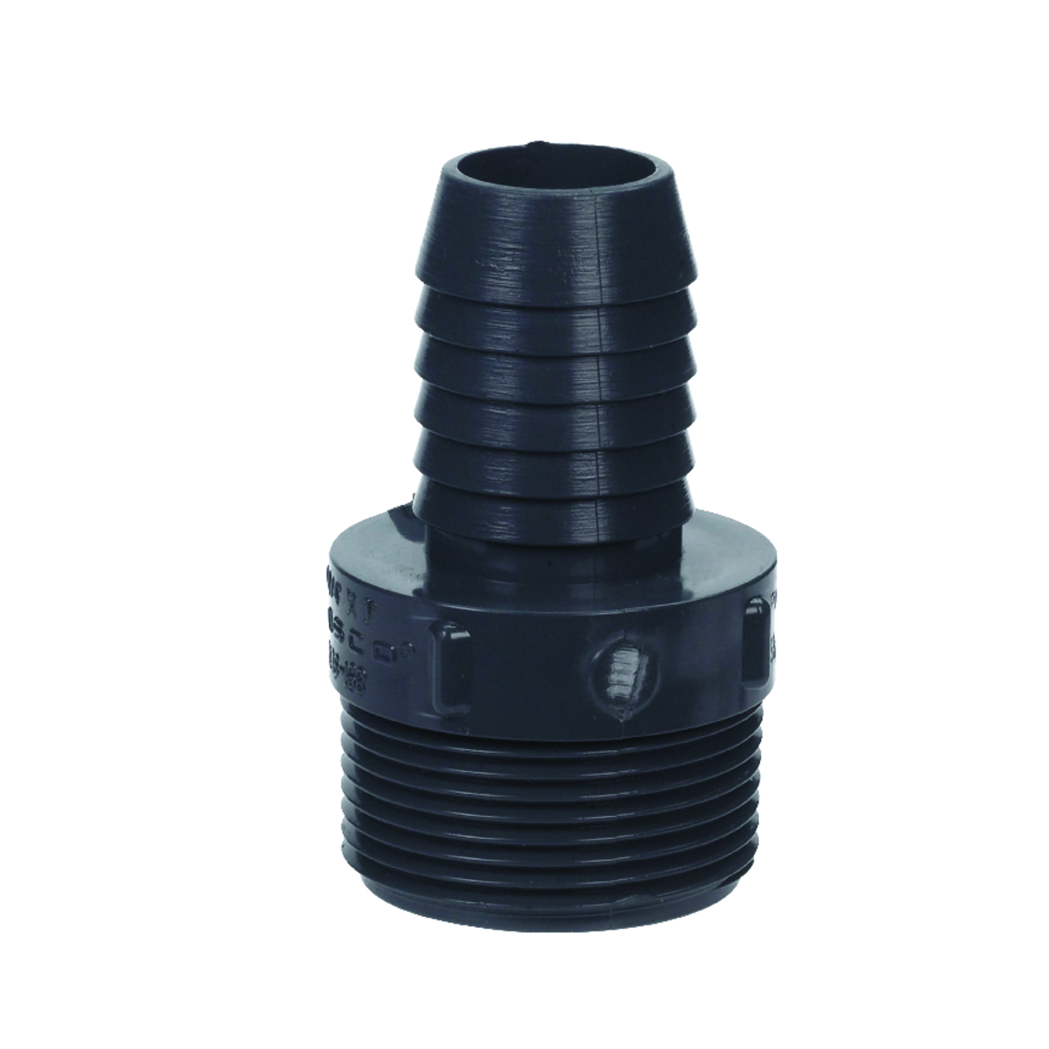 Lasco  1 in. Insert   x 1-1/4 in. Dia. MPT  Insert Adapter
