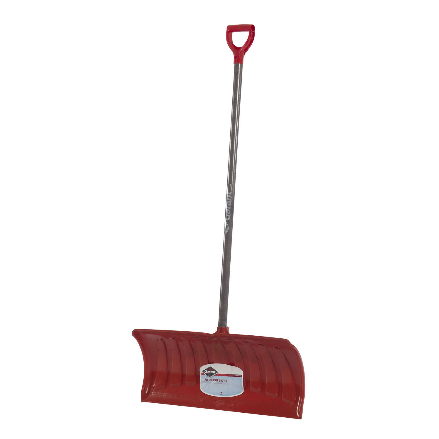 Garant Nordic 26 in. W x 56.5 in. L Poly Snow Pusher