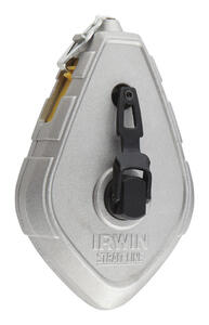 Irwin  Strait-Line  2 oz. Blue  Fast Retrieve  Chalk Line Reel  50 ft.