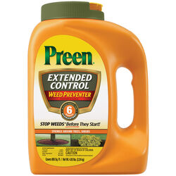 Preen Extended Control Weed Preventer Granules 4.93 lb.