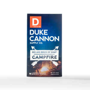Duke Cannon  Campfire Scent Bar Soap  10 oz.
