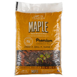 Traeger  All Natural Maple  Hardwood Pellets  20 lb.