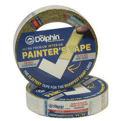Blue Dolphin Washi .94 in. W x 60 yd. L Yellow Medium Strength Interior Painter's Tape 1 pk