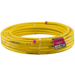 Home-Flex  1/2 in.  x 75 ft. L x 1/2 in. Dia. CSST Gas Tubing  Stainless Steel