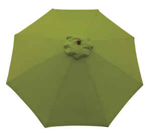 Sunline  9 ft. Lime Green  Market Umbrella