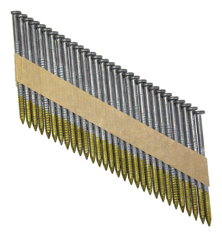 National Nail  Pro-Fit  31 deg. .113 Ga. Ring Shank  Paper Strip  Framing Nails  2-3/8 in. L x 0.1 i