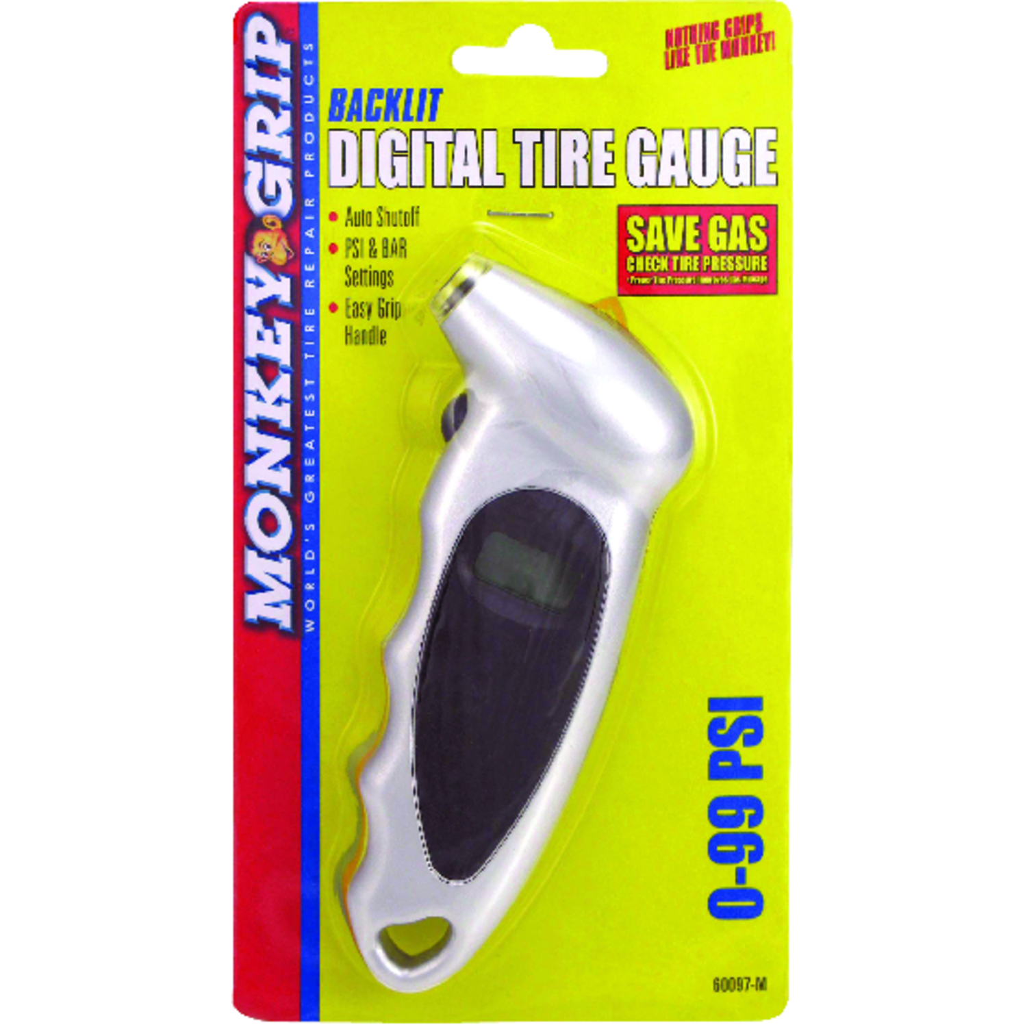 Victor  0 psi 99 psi Digital  Multi-Function Tire Gauge
