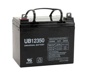 Universal Power Group  UB12350  Sealed 35 amps Lead Acid Automotive Battery